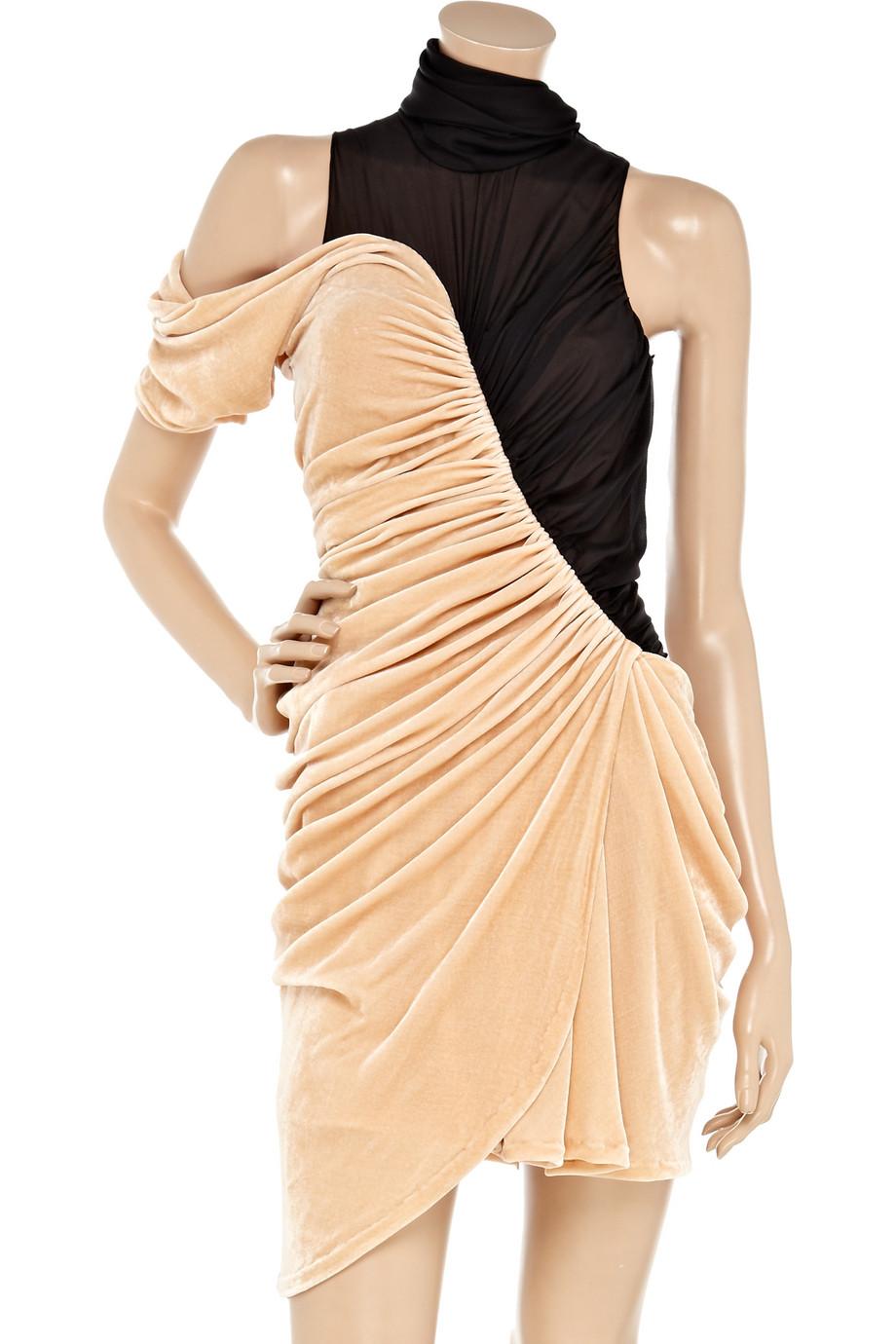 Cheap For Sale Alexander Wang Velvet Knee-Length Dress Extremely IDn36cmdr