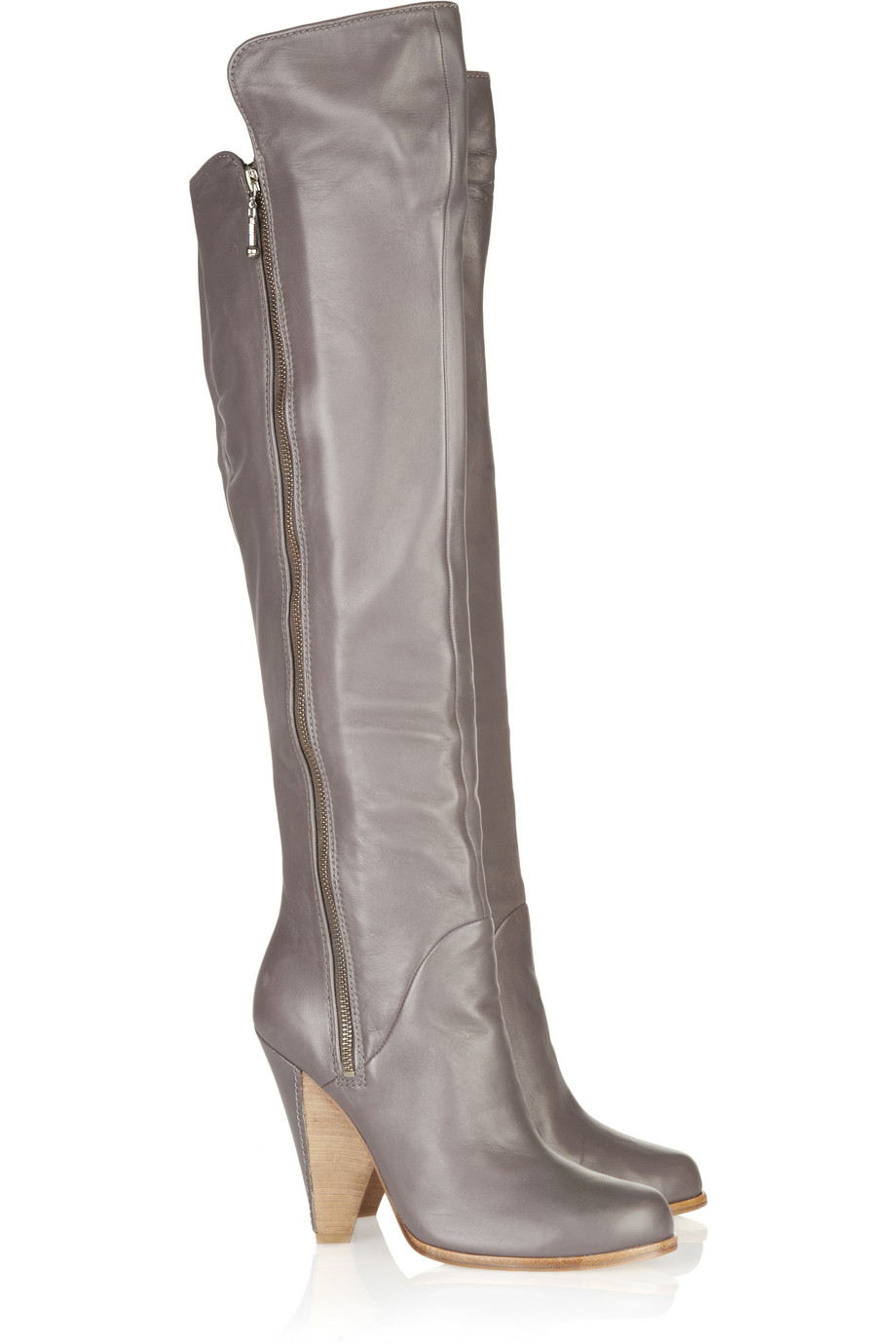 by sigerson morrison leather lined heel thigh high