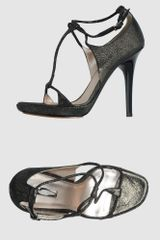 Calvin Klein High-heeled Sandals - Lyst