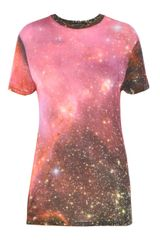 Christopher Kane Cosmic T-shirt - Lyst