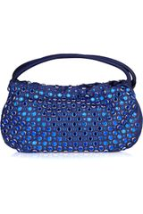 Sonia Rykiel Domino Crystal-embellished Leather Bag - Lyst