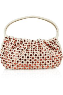 Sonia Rykiel Crystal-embellished Leather Bag - Lyst