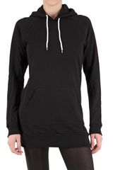 American Apparel Fleece Hoodie Dress - Lyst