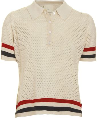 Boy by Band Of Outsiders Mesh Polo - Lyst