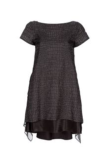 Sacai Cut Away Detail Dress - Lyst