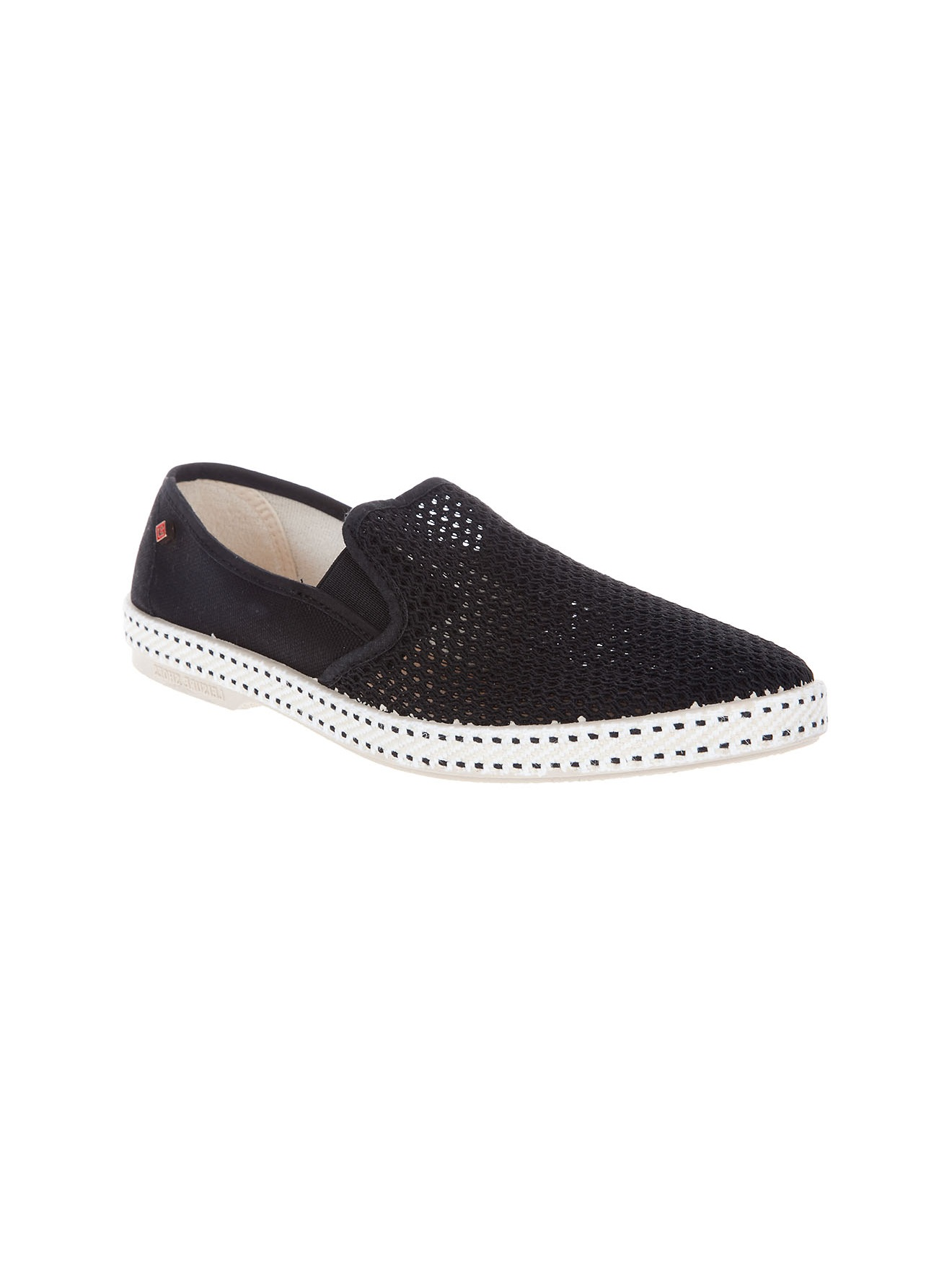 rivieras classic shoe in black for lyst