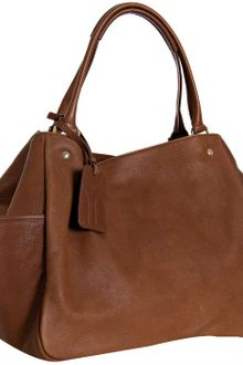 Yves Saint Laurent Gianduia Pebbled Leather Multy Handbag - Lyst