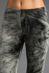Nightcap Velvet Tie Dye Leggings in Gray - Lyst