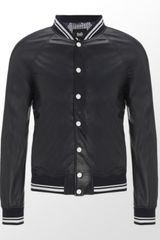 D&G Leather Sports Jacket - Lyst