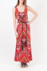 Mara Hoffman Belted Print Maxi Dress - Lyst