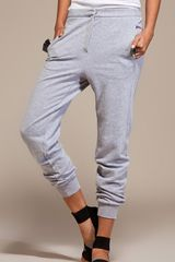 Mm6 By Maison Martin Margiela Sweats in Light Grey - Lyst