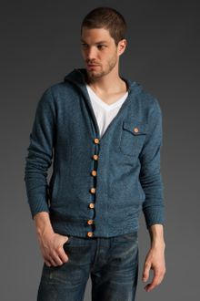 The Scifen Company Sangria Hooded Cardigan - Lyst