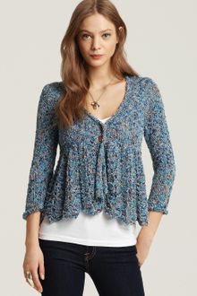 Free People Bloom Cardigan - Lyst