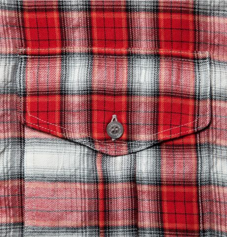 216f3e4fcb1b Burberry Brit Plaid Flannel Shirt in Red for Men | Lyst@Share on ...