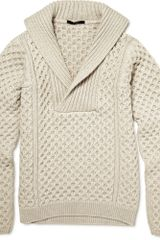 Gucci Chunky Knit Wool Sweater - Lyst