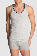 Guess Tank Top in Gray for Men (grey) - Lyst
