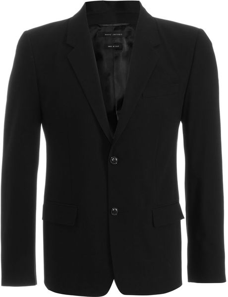 Marc Jacobs Twobutton Sport Jacket in Black for Men - Lyst