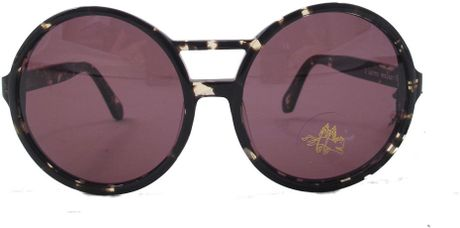 Karen Walker Rover Sunglasses in Black - Lyst