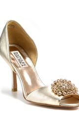 Badgley Mischka Pumps Lacie Dorsay Evening - Lyst