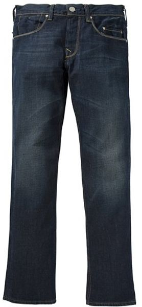 Levi's Levis 533 Straight Leg Jeans, 3 Month Break Blue in Blue for Men - Lyst