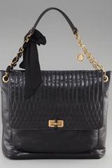 Lanvin Happy Flap-top Shoulder Bag - Lyst