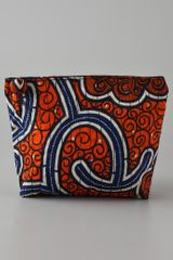 Bluma Project Orange Print Cosmetic Bag - Lyst