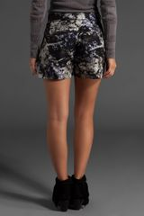 Ksubi Floral Silk Short in Black - Lyst