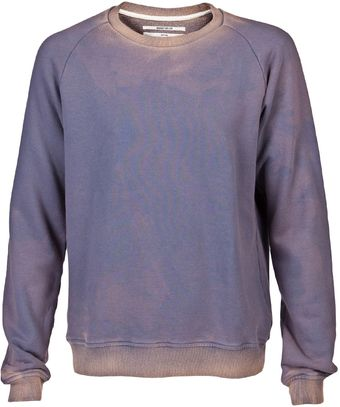 Robert Geller Faded Sweatshirt - Lyst
