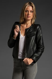 Vanessa Bruno Athé Leather Jacket - Lyst