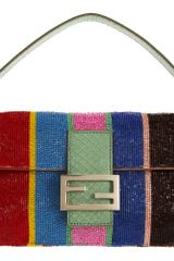 Fendi Beaded Baguette in Multicolor (multi) - Lyst
