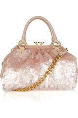Marc Jacobs Delray Pailette-embellished Leather Shoulder Bag - Lyst