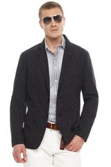 Michael Kors Pinstripe Jacket, Multi-check Shirt & Classic Twill Pants - Lyst