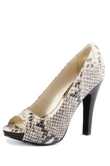 Michael Kors Michael Chandler Open Toe Pump - Lyst