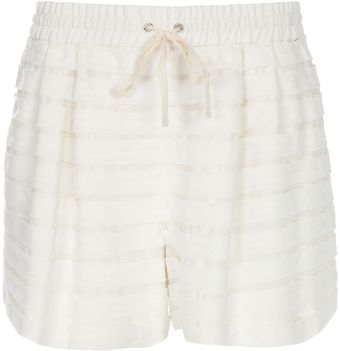 3.1 Phillip Lim Drawstring Shorts - Lyst