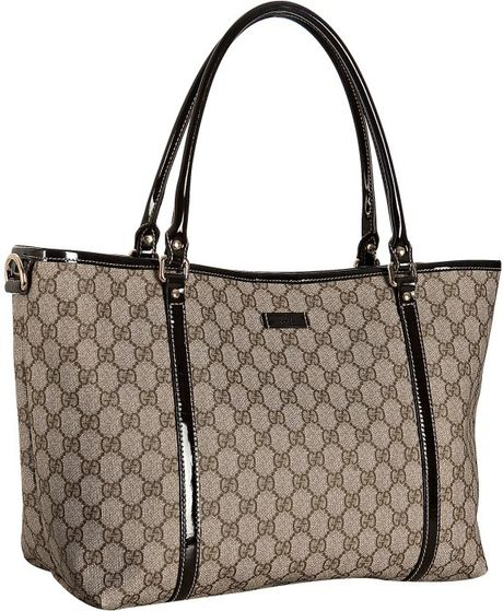 d07300f9f15a Gucci Coated Canvas Gg Plus Tote Brown   Stanford Center for ...