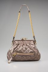 Marc Jacobs Little Metallic Stam Satchel - Lyst