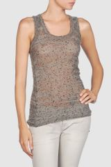 Joseph Sleeveless Sweater - Lyst