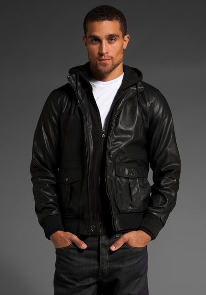 Obey Rapture Bomber Jacket in Black for Men - Lyst