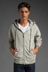True Religion Zip-up Hoodie - Lyst