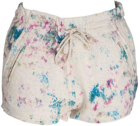 Iro Maurine Shorts in Beige (cream)