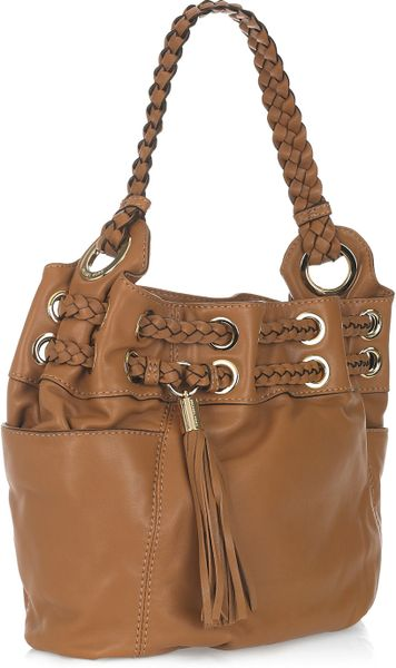 Michael Michael Kors Astor Grommet Large Shoulder Bag In