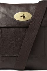 Mulberry Antony Large Leather Messenger Bag - Lyst