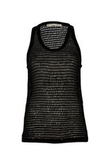 Balenciaga Sequin Tank in Black - Lyst
