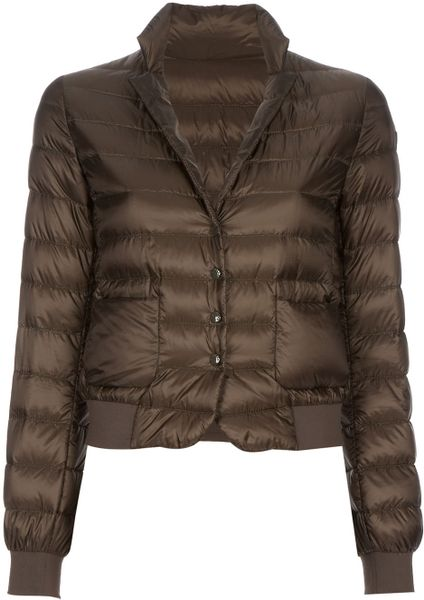 Moncler Irus Jacket in Green (olive) - Lyst