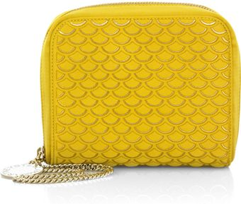 Stella McCartney Satin Clutch - Lyst