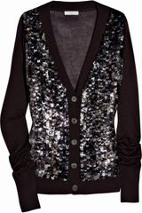Adam Sequined Bamboo and Cashmere-blend Cardigan - Lyst