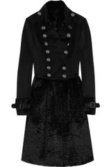 Burberry Prorsum Wool-blend and Rabbit Coat - Lyst