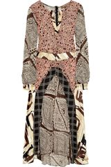 Duro Olowu Printed Silk-blend Georgette Dress - Lyst
