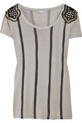 Sass & Bide Change Is Gonna Come Cotton-blend T-shirt - Lyst