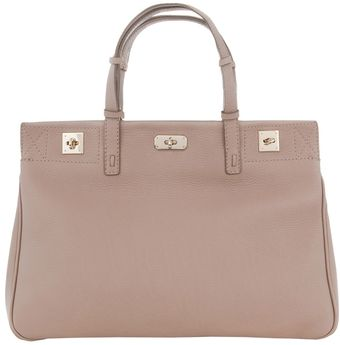 VBH Triple Twist Lock Detail Tote - Lyst
